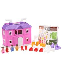 Toyzone My Family Doll house - 35 Pieces