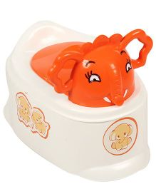 Toyzone Jumbo Potty Seat Orange & White - 50582