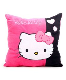 Hello Kitty Cushion - Pink And Black