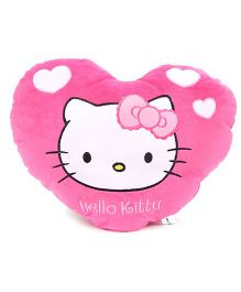 Hello Kitty Heart Cushion - Pink