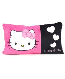 Hello Kitty Cushion Cushion - Pink & Black