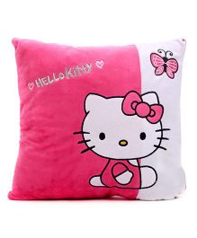 Hello Kitty Cushion - Pink And White