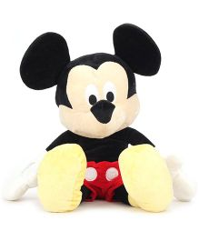 Disney Mickey Mouse Soft Toy Black & Red - Height 17 Inches