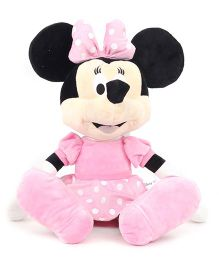 Disney Minnie Mouse Soft Toy Pink - Height 17 Inches