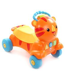 Fisher Price Stride to Ride Tiger Ride on - Orange