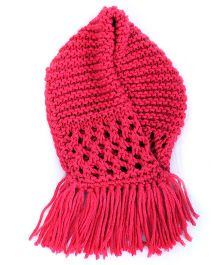 Neck warmer- red