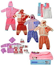 Clothing Set for New Born - Multicolour