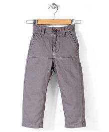 Pumpkin Patch Spliced Panel Chino Pant - Slate Grey
