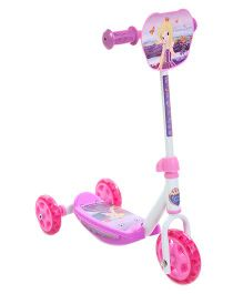 Smoby 3 Wheeler Scooter - Mauve & Pink