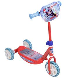 Smoby 3 Wheeler Scooter - Red & Blue