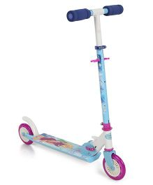 Smoby 2 Wheels Foldable Scooter - Blue And Pink
