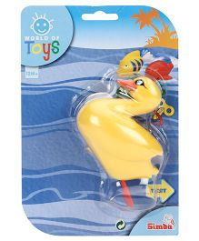 Simba World of Toys Wind Up Swimming Animals Duck - Yellow