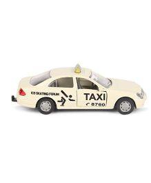 Siku Die Cast Taxi Car Toy - Cream