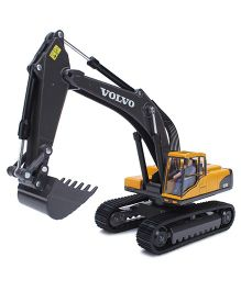 Siku Funskool Hydraulic Excavator Volvo - Yellow And Black