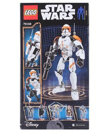 Lego Star Wars Clone Commander Cody Construction Set