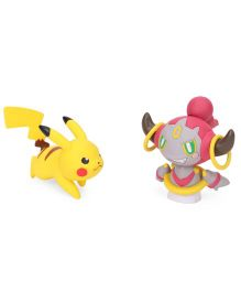 Funskool Pokemon Pikachu Vs Hoopa Confined Action Pose Figure