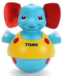 Tomy Tap And Toddle Elephant - Blue