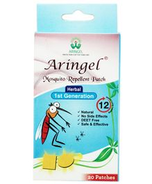 Aringel First Generation Mosquito Repellent Patch - 20 Patches