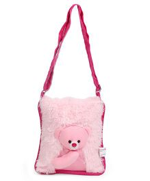 IR Plush Teddy Shoulder Bag - 10 inch