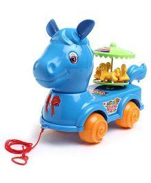 Kids Zone Wonder Pony Pull Toy - Blue