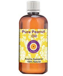 Deve Herbes Pure Peanut Oil - 100 ml