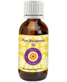 Deve Herbes Pure Macadamia Essential Oil - 30ml