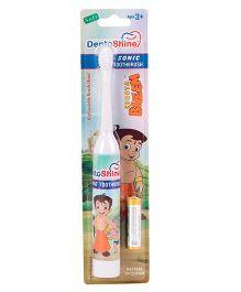 Dentoshine Chhota Bheem Sonic Power Tooth Brush - White