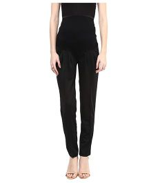 Mamacouture Maternity Trouser -  Black