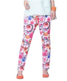 Mamacouture Maternity Pink Printed Pants 36