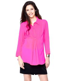 Mamacouture Maternity Office Top (shirt) Medium