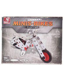 Toy Kraft Mini Bike - 80 Parts