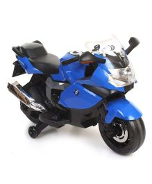 Battery Operated BMW Bike Ride-On - Blue And Black