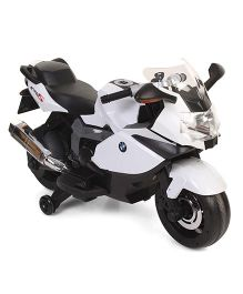 Battery Operated BMW Bike Ride-On - White And Black