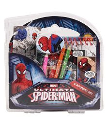 Spiderman Coloring Stationary Set - 5 Color Pencils