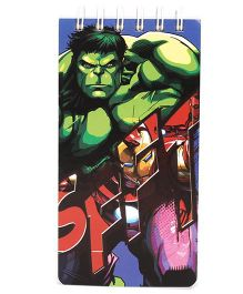 Avengers Hulk Theme Spiral Note Book