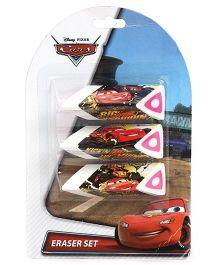 Disney Pixar Cars Erasers - Set Of 3