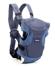 Chicco Go 2 Way Baby Carrier - Grey And Blue