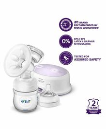 Avent Single Electric Breast Pump With PP Storage Cup