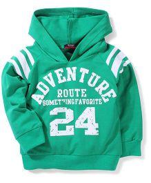 Noddy Original Clothing Hooded Sweatshirt - Green