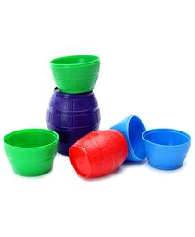 Funskool Stacking Barrels (Color May Vary)