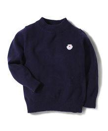 Noddy Original Clothing Full Sleeves Sweater - Navy Blue