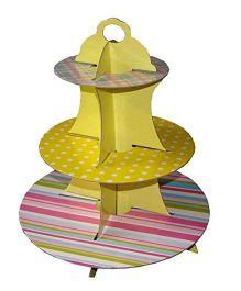 PrettyurParty Multi Print Cupcake Stand