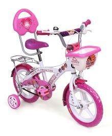 Hero Cycles Disney Princess 14T Bicycle - White & Pink