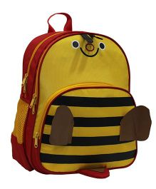 Star Gear Happy Bee Backpack 14 Inches - Yellow