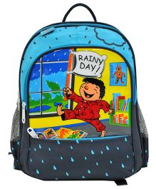 Star Gear Rainy Day Backpack Blue - 14 Inches