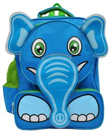 Star Gear Happy Elephant Backpack Turquoise Blue - 14 Inches
