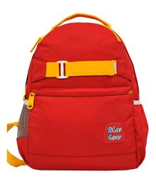 Star Gear Jolly Backpack Red & Yellow - 14 Inches
