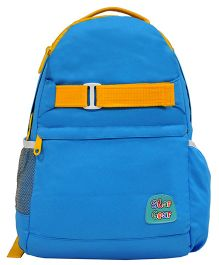 Star Gear Jolly Backpack Blue & Yellow - 16 Inches