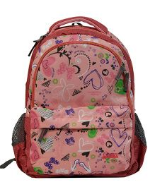 Star Gear Lovely Blossom Print Backpack Pink - 16 inches