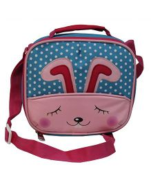 Star Gear Bunny Lunch Box Bag Multicolor - 7 Inches